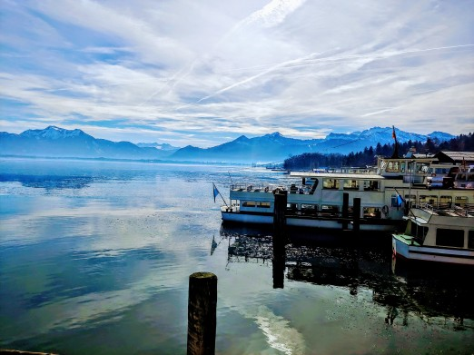The Alps am Chiemsee